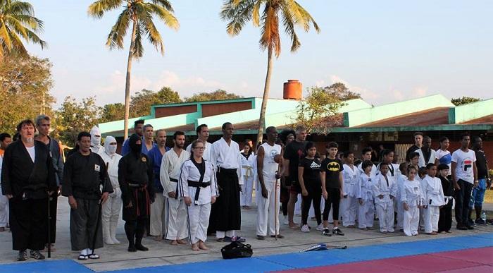 Cuba y Timor unidos por las Artes Marciales