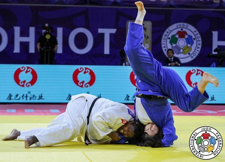 Idalis Ortiz gana oro en Grand Prix de judo en China