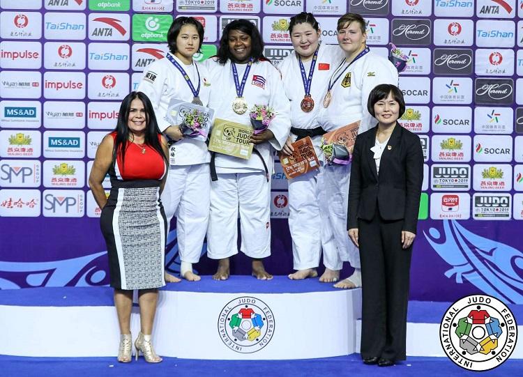 Idalys Ortíz en la cúspide del judo mundial
