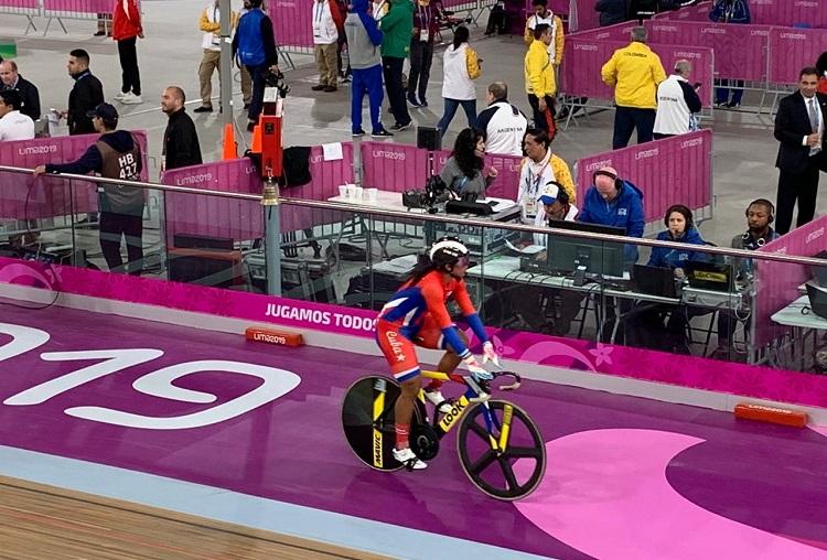Lisandra Guerra sube a Cuba al podio del ciclismo en Lima
