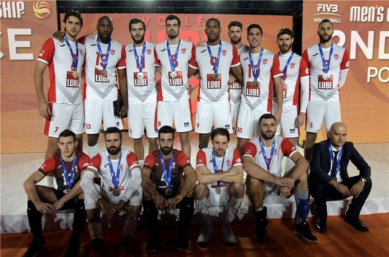 Cubano Robertlandy Simón en final de mundial de clubes de voleibol