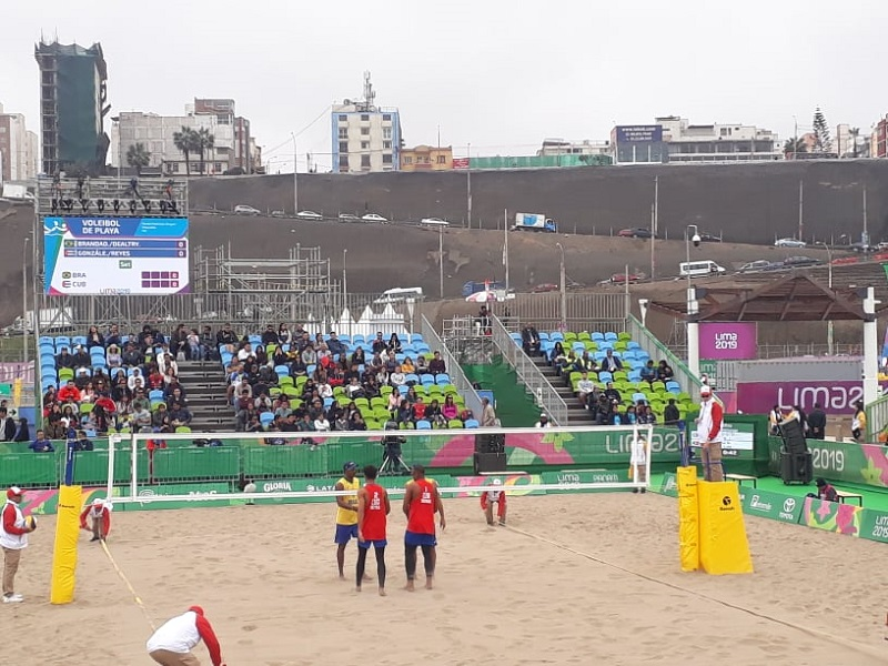 Encienden las canchas los voleibolistas de playa cubanos