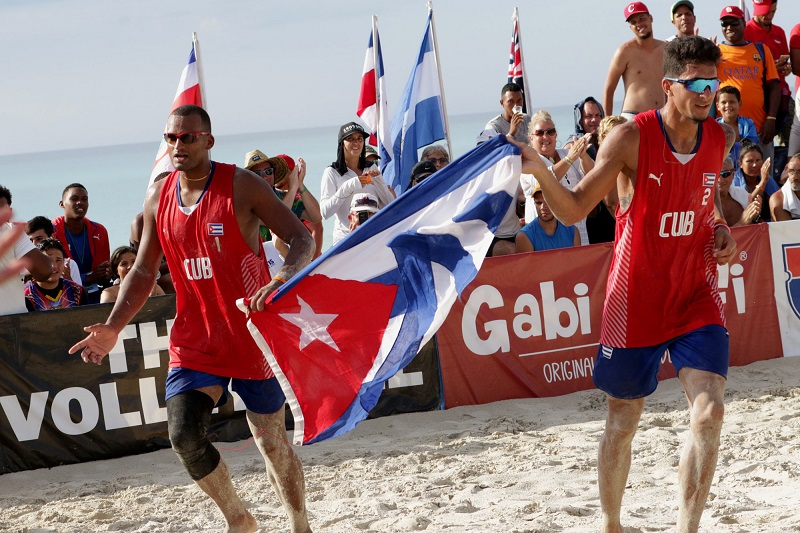 Cuba lidera circuito NORCECA de voleibol de playa