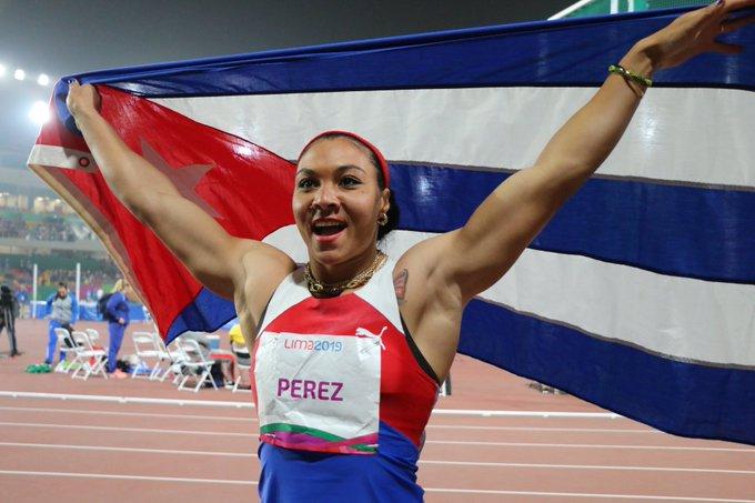 Yaime Perez headed Cuba performance yesterday in Lima 2019
