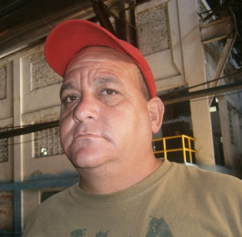 Amaury Rodríguez Depestre, Director de la Unidad Empresarial Básica 14 de julio