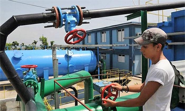 Agua segura en Holguín