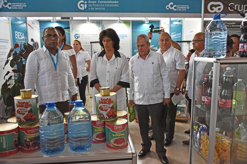 Continúa en La Habana II Convención de Comercio Cuba 2019