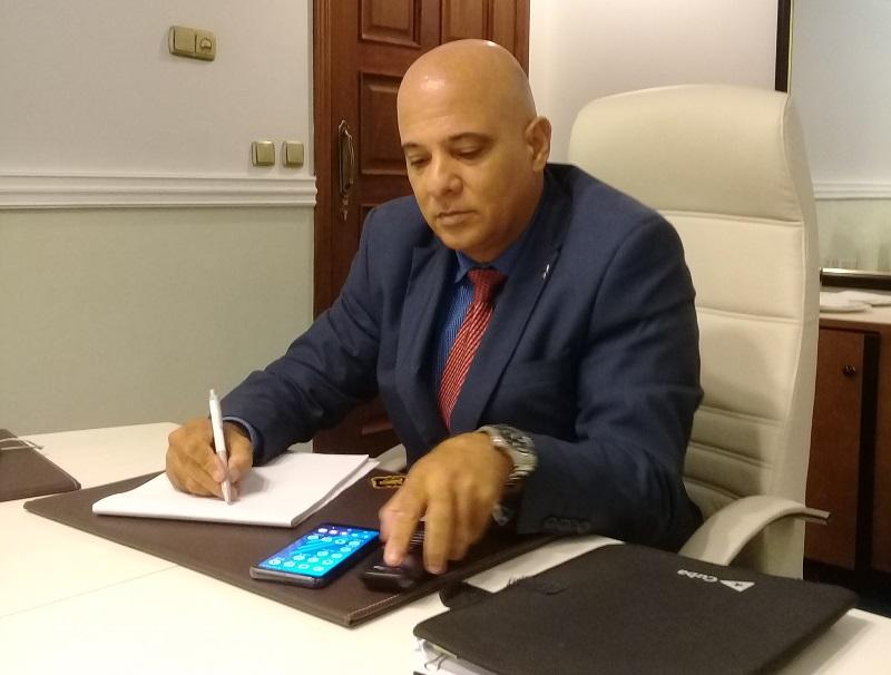 El subdirector del hotel, José Luis Ayala Martínez, destaca que se trabaja en la buscada de nuevos mercados emisores.
