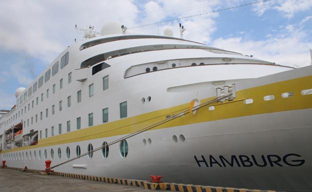 Arribó al puerto de Cienfuegos crucero alemán Hamburg