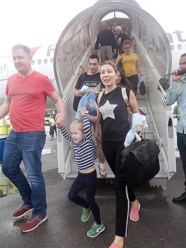 Un estreno aéreo entre Moscú y Holguín