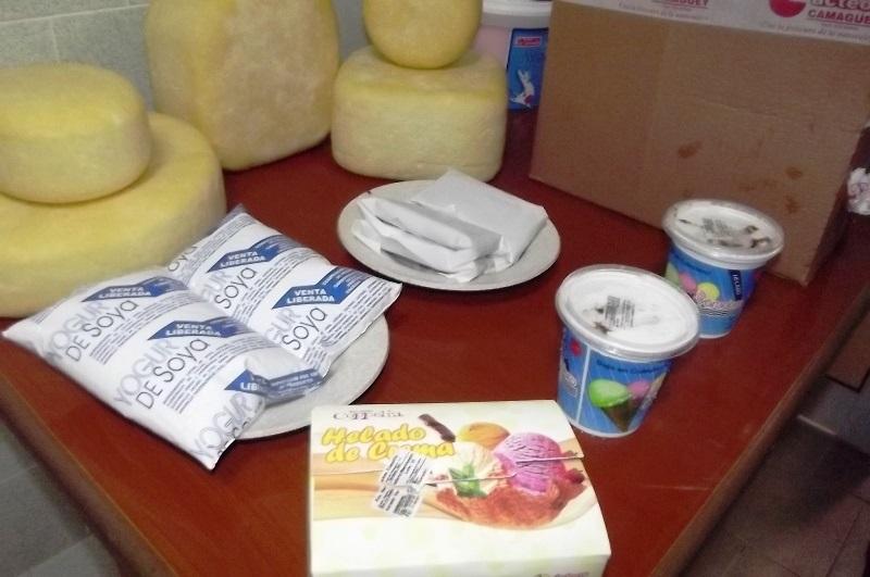 Queso, helado y yogurt son algunos de los alimentos que produce la industria láctea en Camagüey