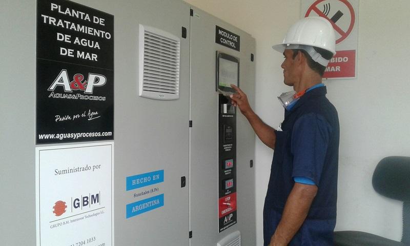 Inaugurada planta desalinizadora en Punta de Maisí