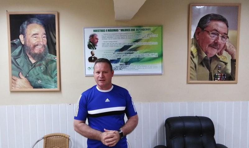 Roy Luis Molina Campos, Director UEB Transporte y Mecanización.