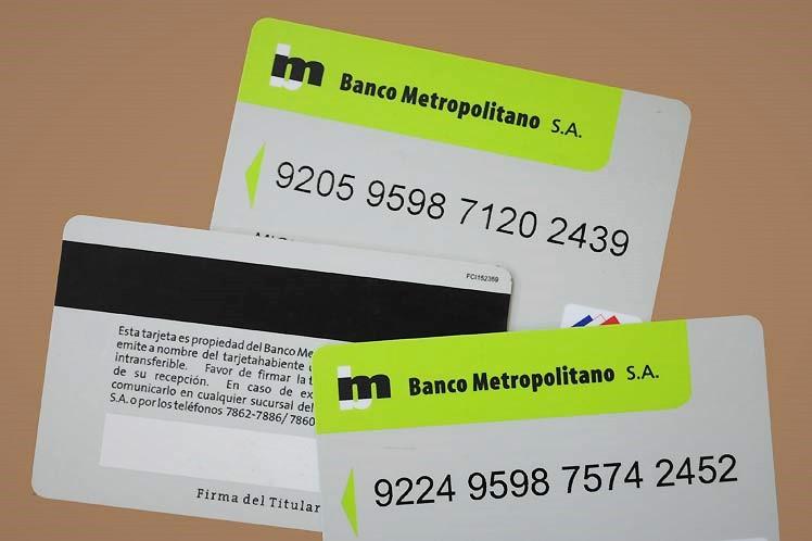 Aplica Banco Metropolitano bonificaciones a compras con tarjeta magnética