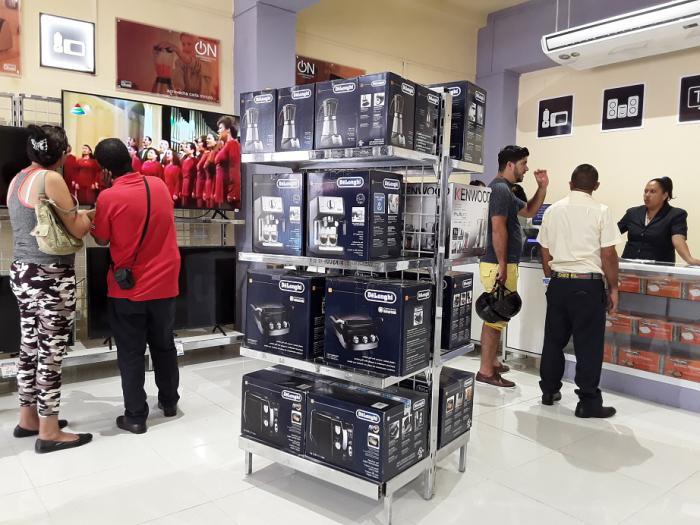 Desde hoy más tiendas para ventas de equipos electrodomésticos en divisas