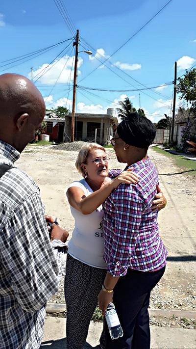 Reconoce vicepresidenta cubana avances de los recursos hidráulicos