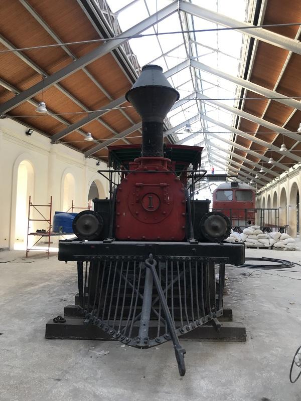 Descubre en la estación Cristina la historia del Ferrocarril en Cuba