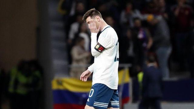 Confirmada lesión de Lionel Messi