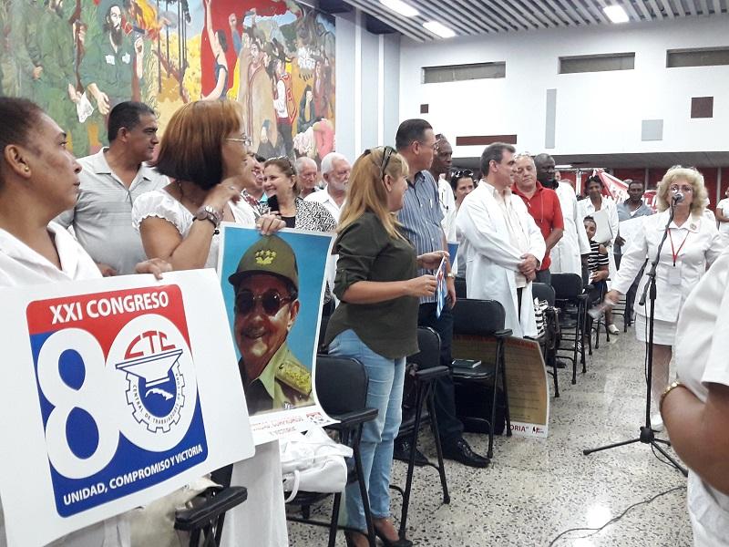Abrirá bloque de la Salud desfile por el 1ro de mayo en La Habana