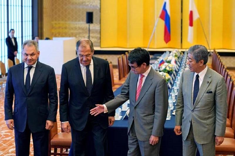 Japan, Russia FM Discuss Asia-Pacific Security