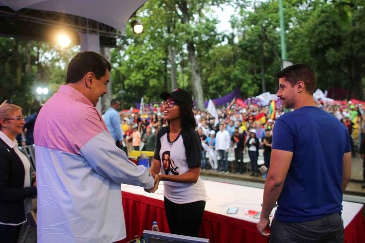 Nicolás Maduro clausura Congreso de la OCLAE en Venezuela