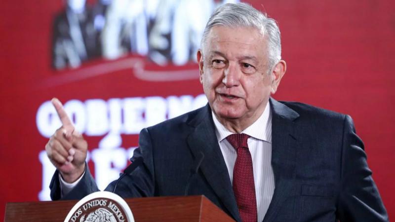 Advierte AMLO que no permitirá intervención de EE.UU. en México