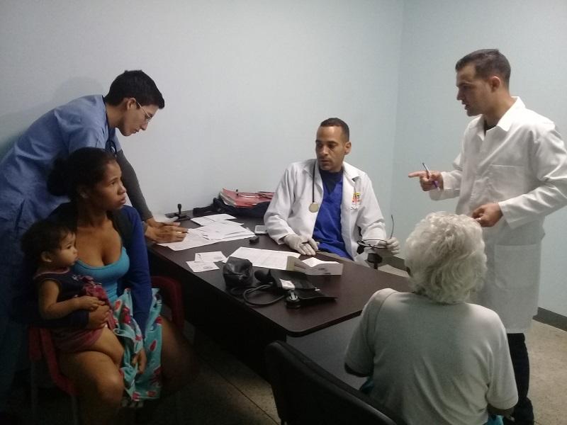 Garantizan asistencia médica en Caracas