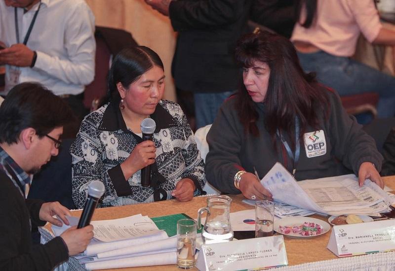 Auspiciada por la OEA, continúa la auditoría a las elecciones del pasado 20 de octubre.