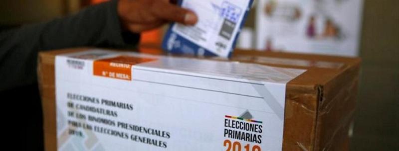 De las elecciones primarias en Bolivia