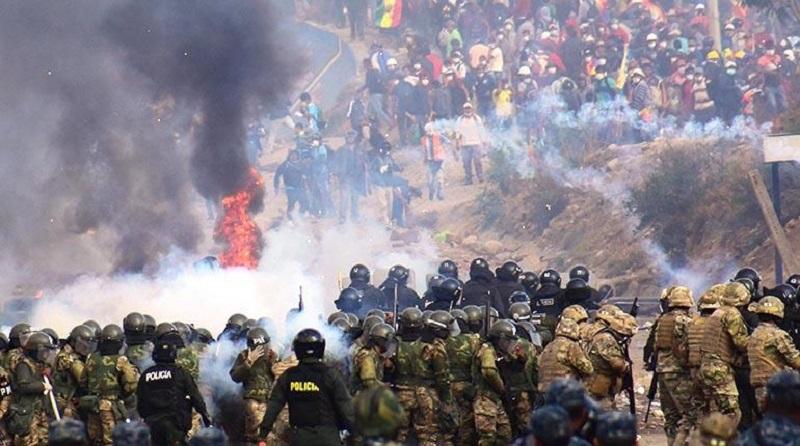 Denuncia Evo Morales masacre golpista
