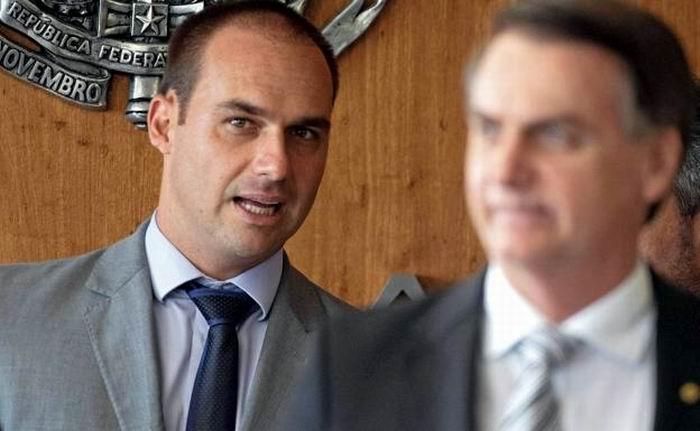 Bolsonaro pretende que su hijo sea el embajador en Estados Unidos