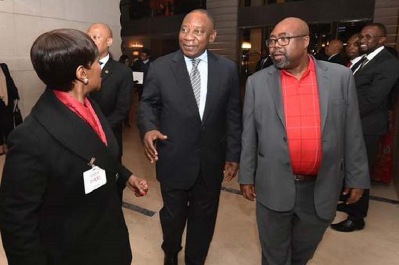 South African President Leads Delegation to ILO Conference