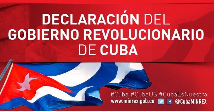 Cuba rechaza enérgicamente nuevas medidas de Estados Unidos