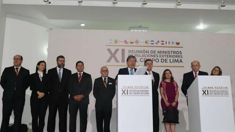 Los planes del Grupo de Lima contra Venezuela