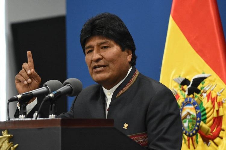 Hay que empezar a pacificar Bolivia, proclamó el jefe de Estado, en una comparecencia en la sede de Gobierno en La Paz