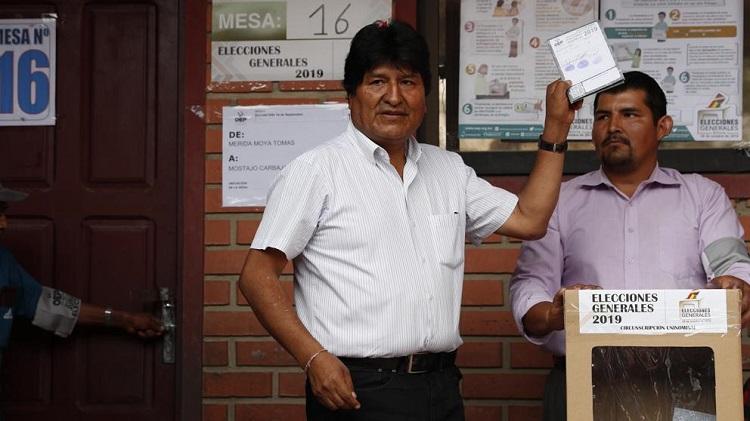 Evo Morales gana elecciones en Bolivia