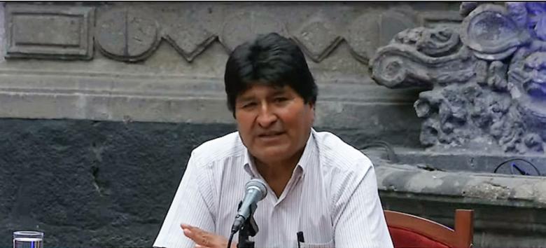"""Evo Morales: """"Mi gran delito es ser indígena"""""""
