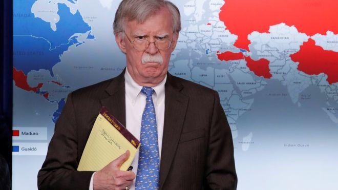 Bolton reitera posibilidad de usar fuerza militar contra Venezuela