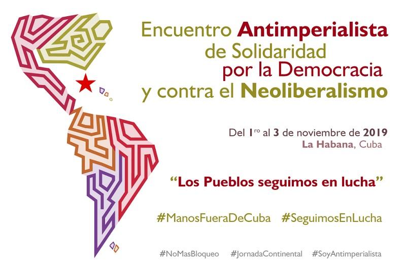 Encuentro Antimperialista de Solidaridad, por la Democracia y contra el Neoliberalismo