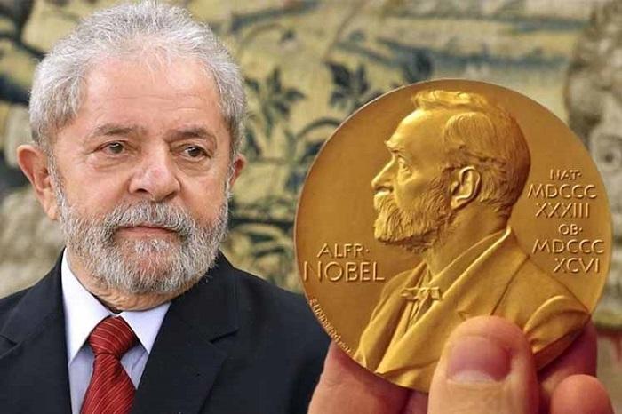 Lula es candidato oficial al Premio Nobel de la Paz