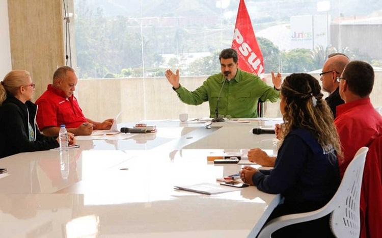 Repudia Nicolás Maduro la vinculación de Guaidó con bandas colombianas