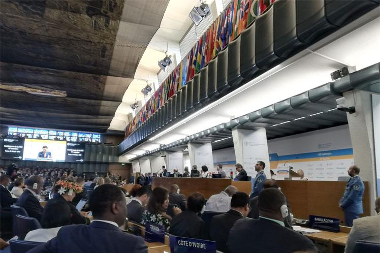 Denuncia Cuba en FAO perjuicios del bloqueo a la industria agroalimentaria