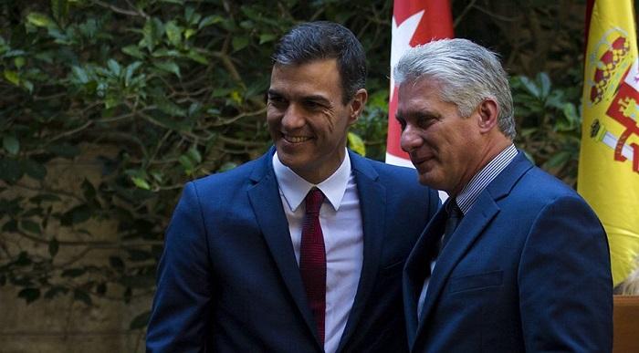 España expresa preocupación por recrudecimiento de bloqueo a Cuba