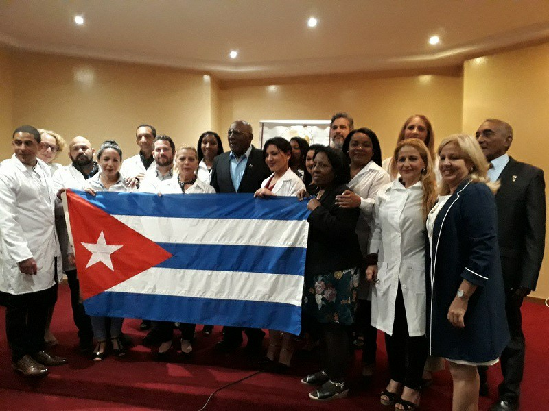 First Cuban VP to meet with medical collaborators in Eswantini