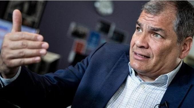 Afirma el expresidente Rafael Correa que no cree en la justicia ecuatoriana