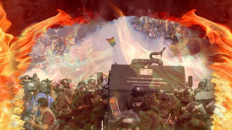 Denuncian intento de los golpistas en Bolivia de ocultar su plan de violencia contra el pueblo