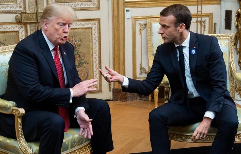 Tensa Trump las relaciones de EE.UU. con Francia, la OTAN y la Unión Europea