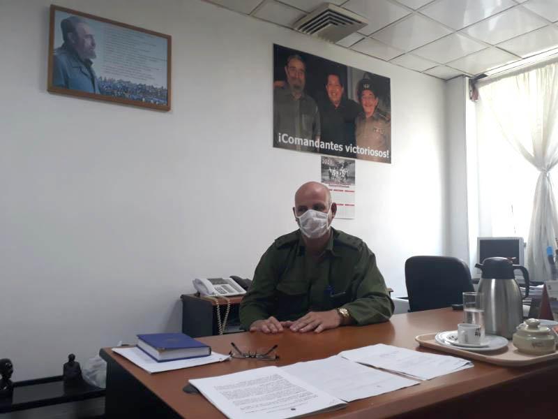 🎧 Hospital Militar Luis Díaz Soto, frente de combate directo contra la COVID-19 (Parte I)
