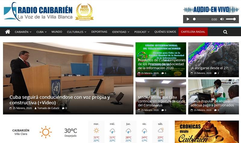 Proyectos de Cuba camepeones de los Premios de la Sociedad de la Información