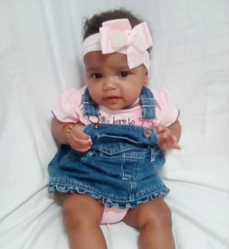 Alexa, la bebé del Doctor Jorge Luis, tiene 6 meses.
